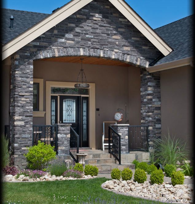 0-Cultured-Stone-Black-Rundle-Country-Ledgestone-Residential-Exterior-Entrance-Arch-project-view