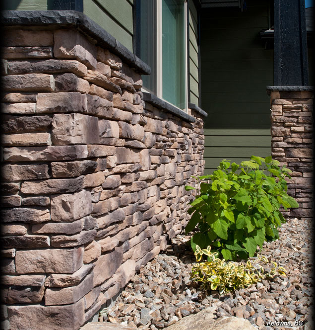 Cultured Stone Pillars : Stone maritime fireplaces