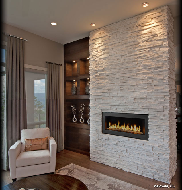 Cultured-Stone-Winterhaven-Pro-Fit-Alpine-Ledgestone-Residential-Interior-living-room-modern-fireplace-project-view