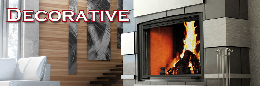 Decorative Wood Fireplaces