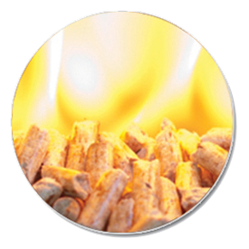 heating with pellet