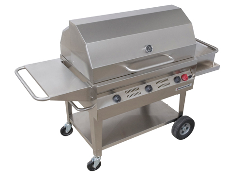 BBQ Rental silver giant